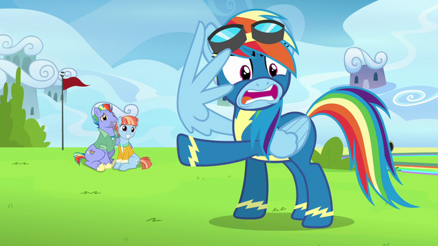 "File:Rainbow Dash ""you've invited a whole lot of crazy"" S7E7.png"