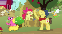 Sweet Apple Admirer drinking cider S7E14