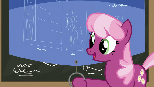 File:Cheerilee unfurling a blueprint S6E14.png