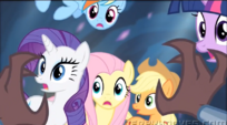 MLP Season 4 finale Mane 6 and Tirek promo