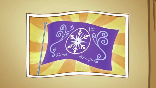 File:Picture of the Crystal Empire flag S3E01.png