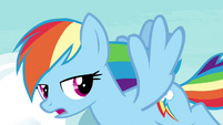 "Rainbow ""you'll become a great flyer in no time"" S4E21"