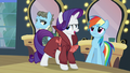 "Rarity ""by a girl pony with a raspy voice!"" S5E15.png"