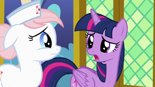 "File:Twilight ""came down with the horsey hives"" S7E3.png"