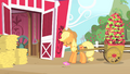 Applejack about to pick up the invitation S1E25.png