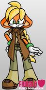 FANMADE Applejack Sonic FDS
