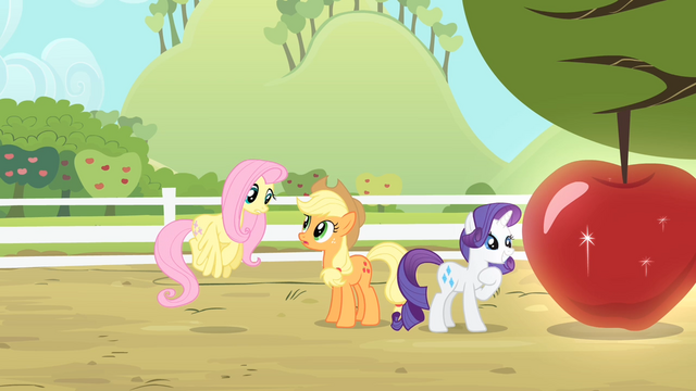 File:Fluttershy '... know how special that particular apple...' S4E07.png