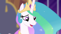 "Princess Celestia ""you may no longer be my student"" S4E01"