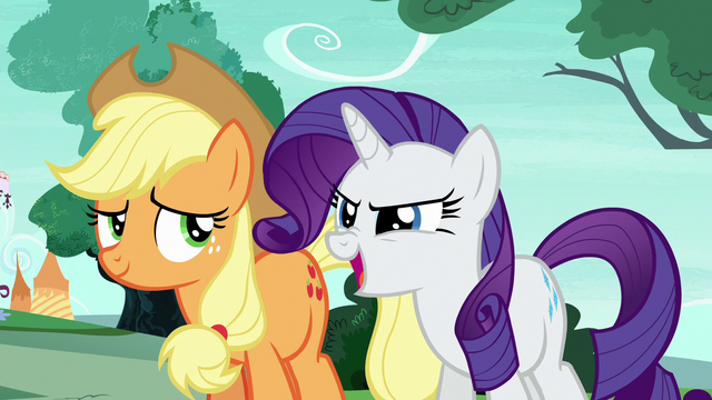 """File:Rarity Changeling """"the decorations were terrifying!"""" S6E25.png"""