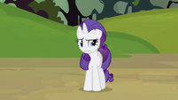 Rarity absolutely horrendous!! S3E9