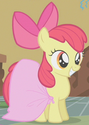 Apple Bloom makeshift dress ID S1E12