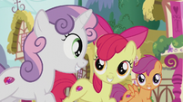 "CMC singing ""helping fillies to break through"" S5E18"