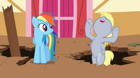 Derpy Hooves about to fall over again S2E14