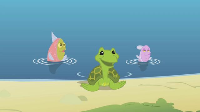 File:Fluttershy's aquatic animal friends S1E05.png