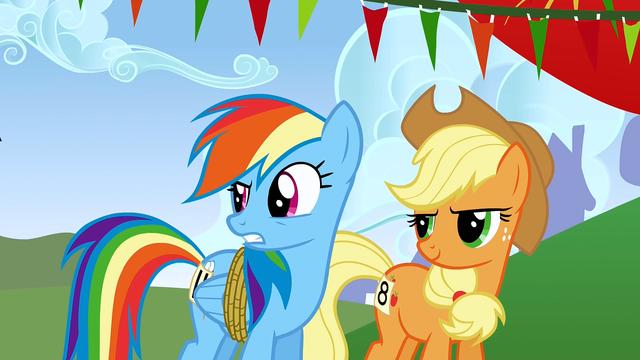 "File:Rainbow Dash ""you're an egghead"" S1E13.png"