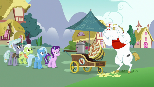 File:Starlight and ponies look confused at Bulk Biceps S7E2.png