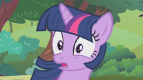 Twilight being confused by Pinkie Pie S01E10