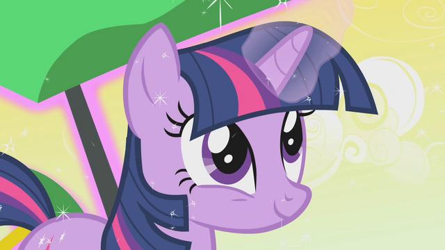 File:Twilight happily using magic S1E11.png