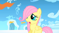 Fluttershy listens to the bullies S1E23