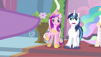 Princess Cadance pointed at S2E25