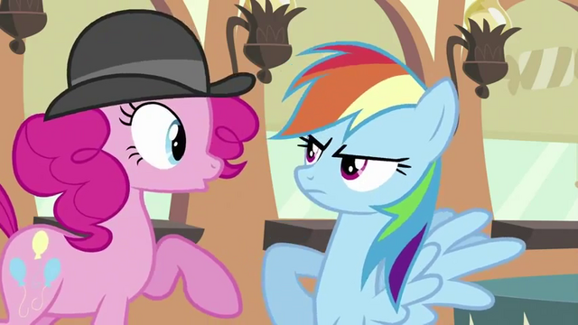 "File:Rainbow Dash ""I don't HAVE pink hair in my mane, genius!"" S2E24.png"