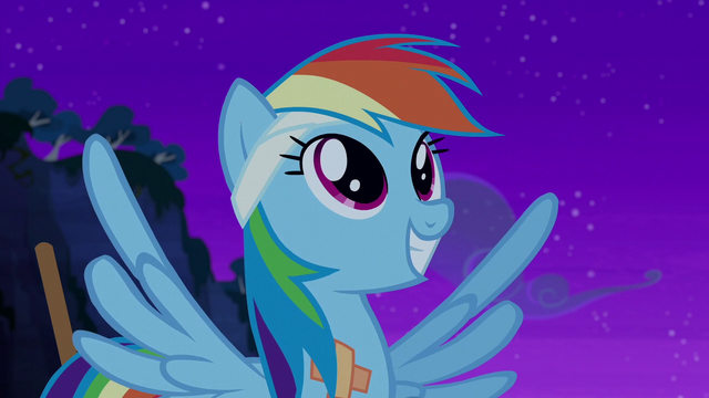 File:Rainbow Dash smiling happily S6E7.png