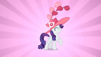 Rarity with a hat S2E9