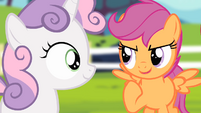 Scootaloo 'So let's keep working!' S4E05