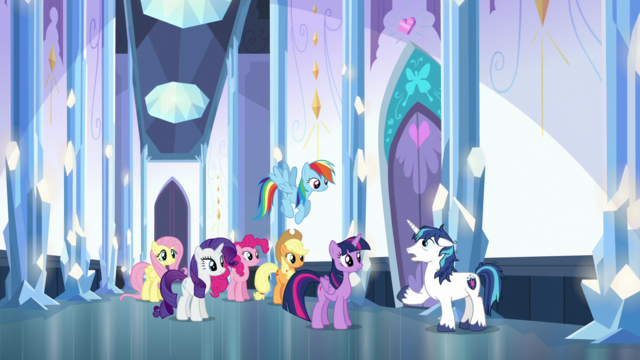 File:Shining Armor warning Twilight and friends S6E1.png