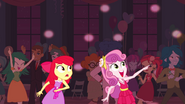 Apple Bloom and Sweetie Belle at the Fall Formal EG