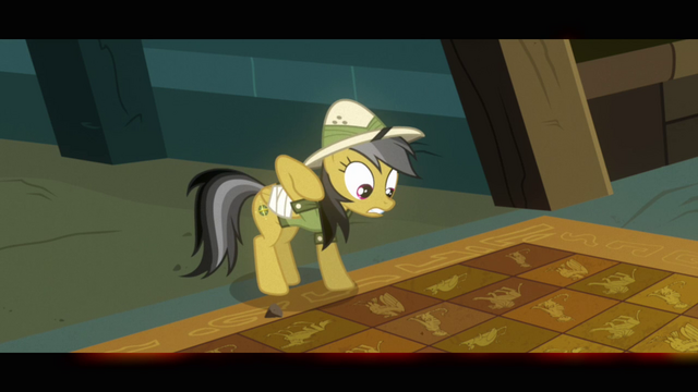 File:Daring Do pulls hoof away from tile floor S2E16.png