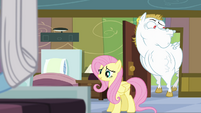 Fluttershy and Bulk check in on Rainbow S4E10