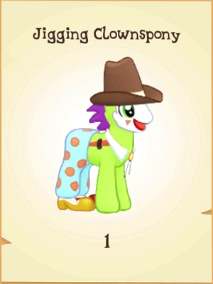 File:Jigging Clownspony MLP Gameloft.png