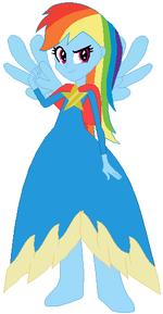 FANMADE Rainbow Dash Cape