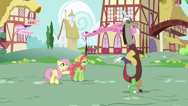 File:Fluttershy introduces Tree Hugger to Discord S5E7.png