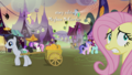 Fluttershy nervously wandering Ponyville S5E21.png