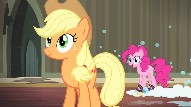 "File:Pinkie Pie ""perfect right where it is"" S4E06.png"