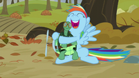 "Rainbow hugging Tank ""I will keep you by my side"" S5E5"