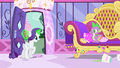 "Rarity ""with the most fantastic theater he's ever imagined!"" S4E23.png"