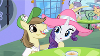 Rarity not helping S2E9