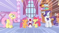 Cutie Mark Crusaders yay S1E17.png