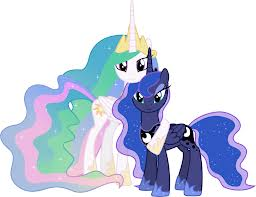 File:FANMADE Celestia and Luna together.jpg