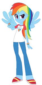 FANMADE Rainbow Dash Human Pajamas