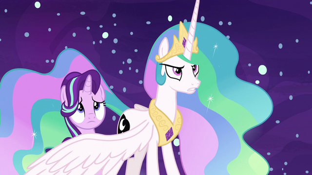 File:Princess Celestia stands up to Daybreaker S7E10.png