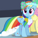 Rainbow Dash bridesmaid ID S2E26