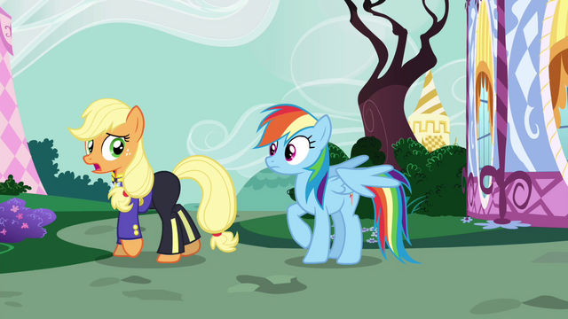 """File:AJ """"then you are up a creek"""" S4E21.png"""