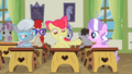 Apple Bloom with a huge smile S2E12.png