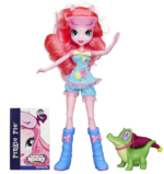 Pinkie Pie and Gummy Snap Equestria Girls Rainbow Rocks set