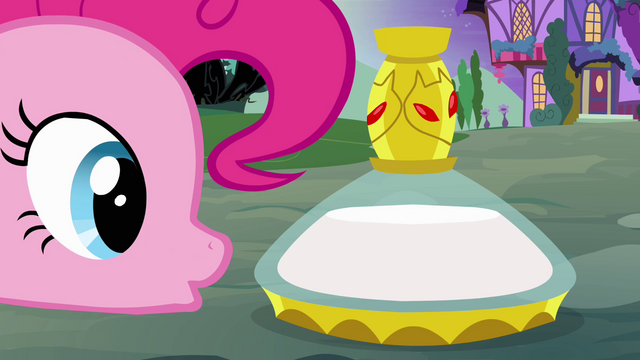 File:Pinkie Pie stares at potion S4E01.png