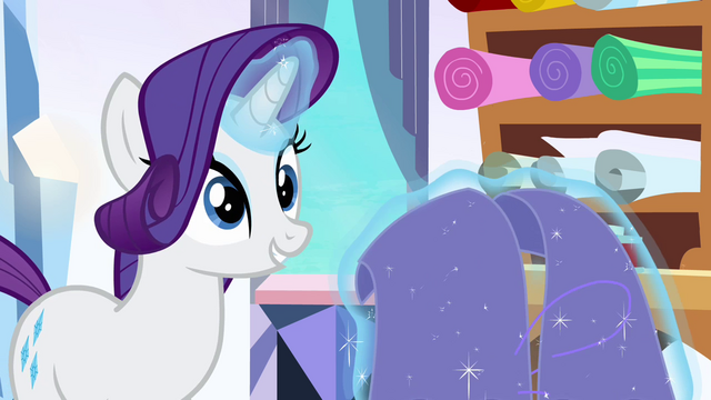 File:Rarity 'flew a flag of many hues' S3E1.png